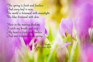 May poem