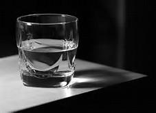 1/2full glass