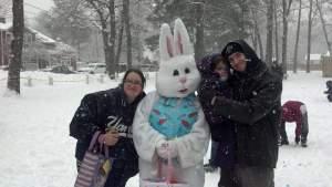 Easter Egg hunt our Granddaughter 2015