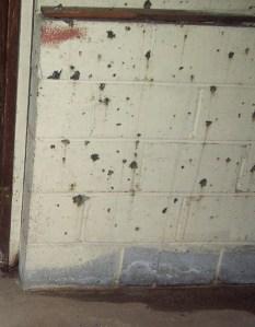 Pock Marks_Cinder Block Walls_2014
